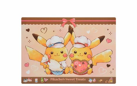 プレースマット Pikachu's Sweet Treats