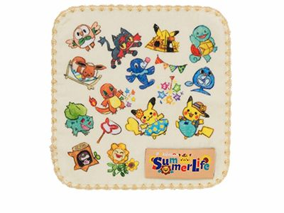 A4クリアファイル2枚セット Pokémon Summer Life