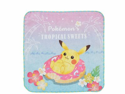ハンドタオル Pokemon's TROPICAL SWEETS 500円