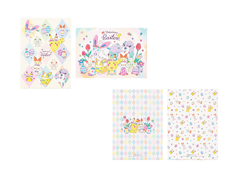 A4クリアファイル2枚セット Pokemon Easter