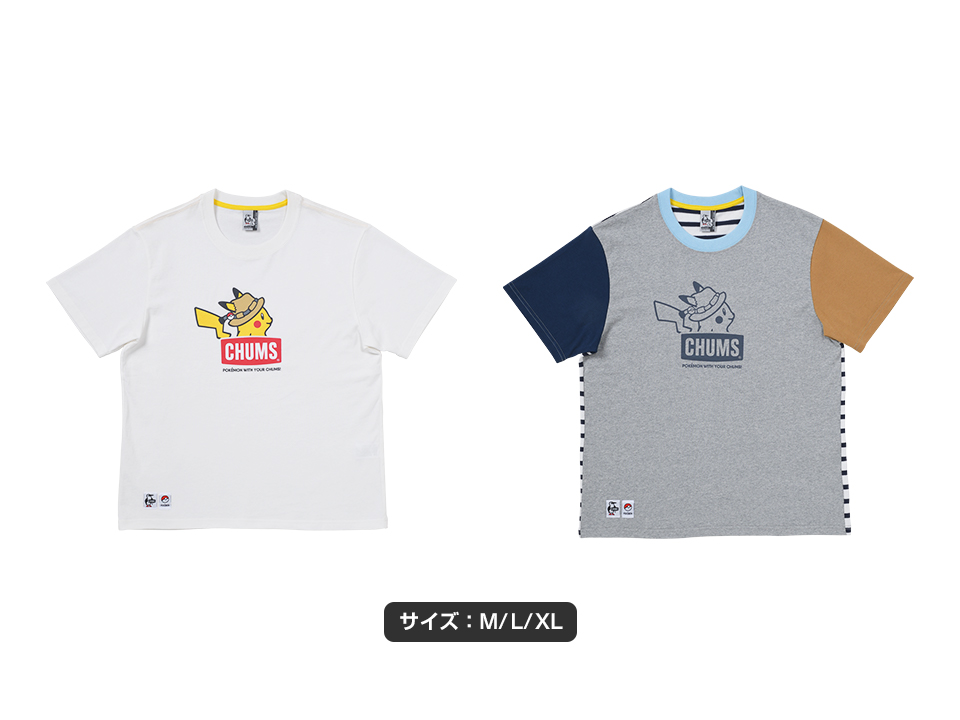 Tシャツ POKEMON WITH YOUR CHUMS! WH M